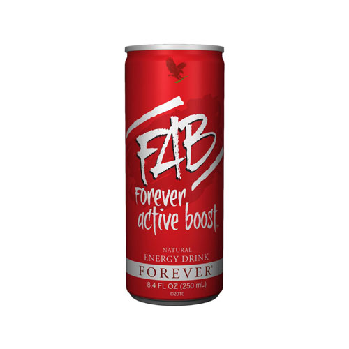 FAB Forever Active Boost Natural Energy Drink - ФАБ Натурална енергийна напитка