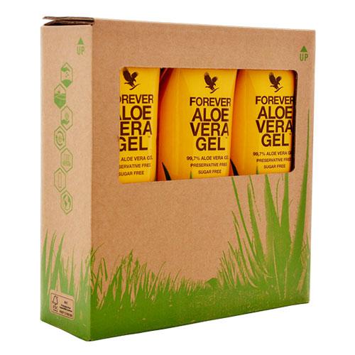 Aloe Vera Gel TriPack - ТриПак - гел от алое вера