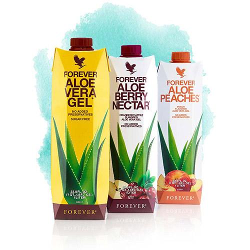 Aloe Drinks TriPack - ТриПак - алое напитки